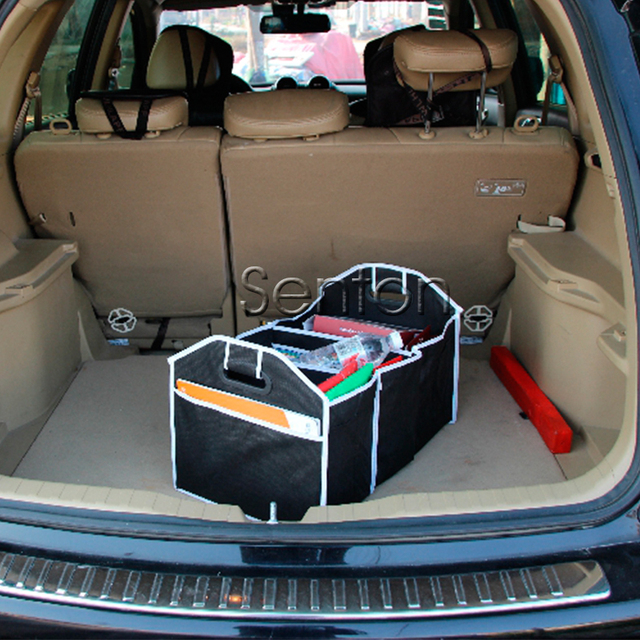 Folding Storage Box Car Trunk Bag Net For Suzuki Swift Mitsubishi