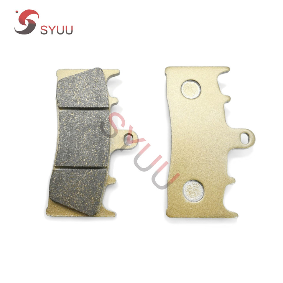 SYUU Motorcycle Replacement Front Rear Brake Pads Brakes for Suzuki GSXR 750 94-99 TL1000 98-02 GSXR 1100 93-96 GSF 1200 01-05 FA188F FA063R