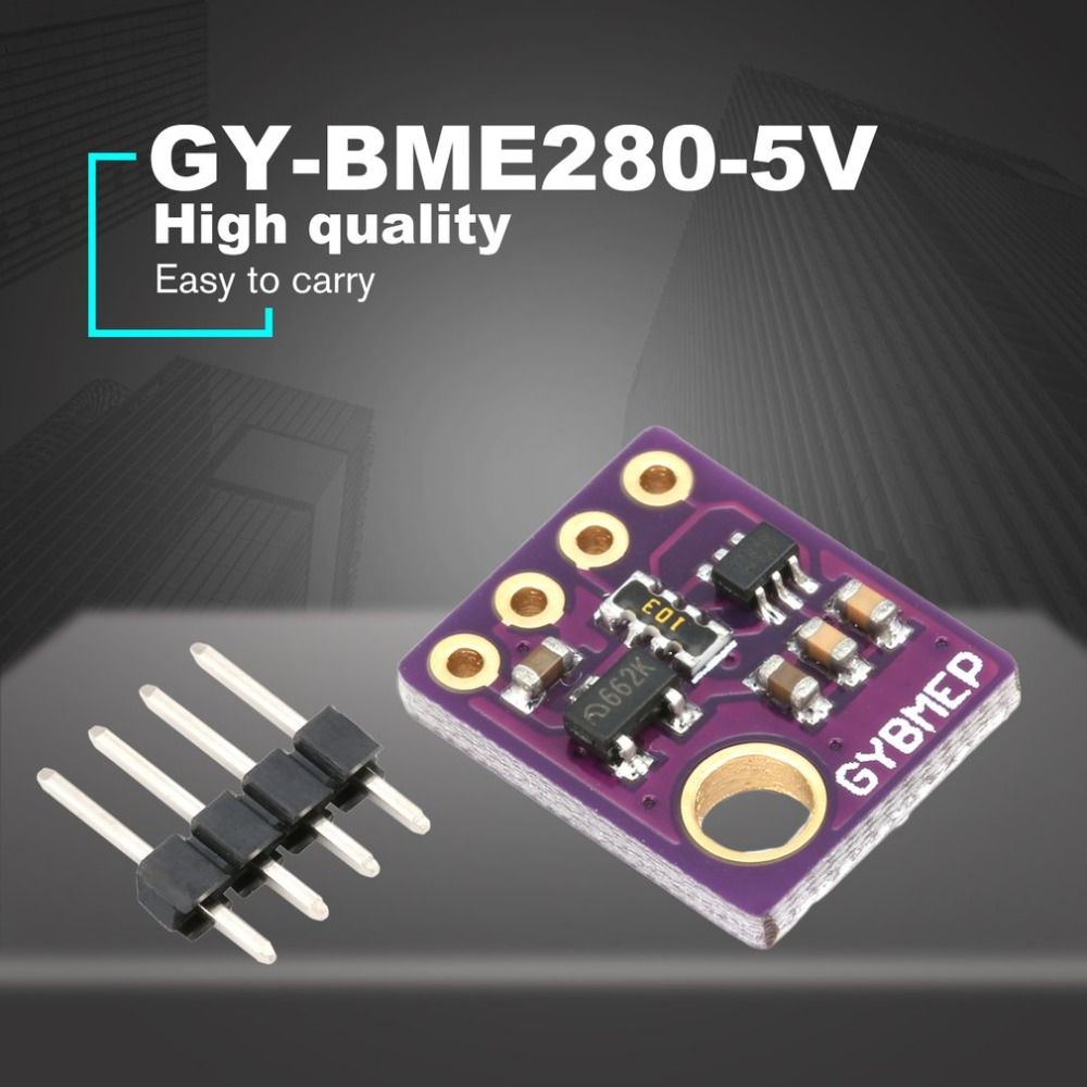GY-BME280-5V Digital Sensor SPI I2C Humidity Temperature And Barometric Pressure Sensor Module 1.8-5V DC High Precision