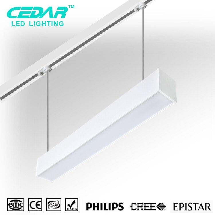 40W led batten light in commercial location,4ft linear flat