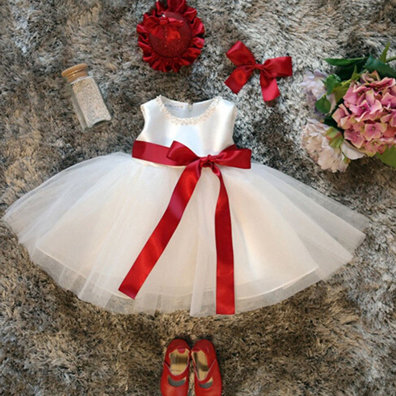 Baby Girl 1 2 Year Birthday Party Dress Newborn Baby Dresses For Girls Wedding Princess Infant Baptism Toddler Christening Gowns