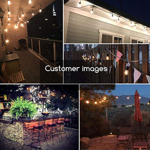 Image 3 - Xsky Tira de luces LED para decoración de jardín guirnalda de luces de Fiesta al aire libre, 6M, 20 luces LED para boda, Navidad, UE, EE. UU.