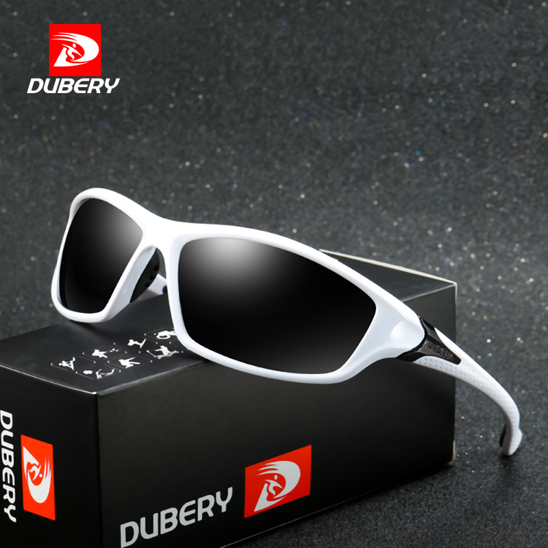 DUBERY Polarized Night Vision Aviator Sunglasses Men's Retro Male Sun Glasses For Men Brand Luxury Mirror Goggles Shades Oculos