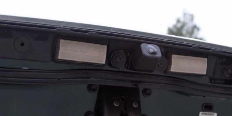 Dla Toyota Land Cruiser LC 100 120 200 V8 Prado noktowizor kamera cofania kamera cofania samochodu HD CCD