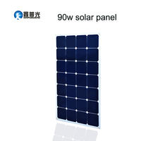 Xinpuguang 16V 90W solar panel quality cell Aluminum board for home system car RV boat yacht 12V battery charger 926*540*3mm