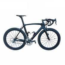 SmileTeam 700C Road Bike T800 Carbon Fiber Frame Cycling Bicycle Ultegra R8000 22 Speed Bicicleta 50mm Wheelset and 23C Tire