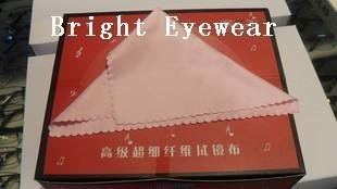 Custom-made glasses lens microfiber eyewear eyeglasses cleaning cloth needle one best quality can print your logo 100pcs/pack