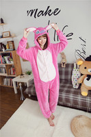 Kigurums Pink Stitch Onesies Pajamas For Adults Unisex Cartoon Anime Cosplay Costume Cute Animal Cosplay Pyjamas