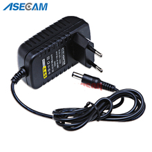 AC 100V-240V Converter Adapter DC 12V 2A 2000mA Power Supply EU US UK AU Plug 5.5mm*2.1mm for CCTV IP Camera System корм для кошек felix феликс sensation курица морковь конс 85г