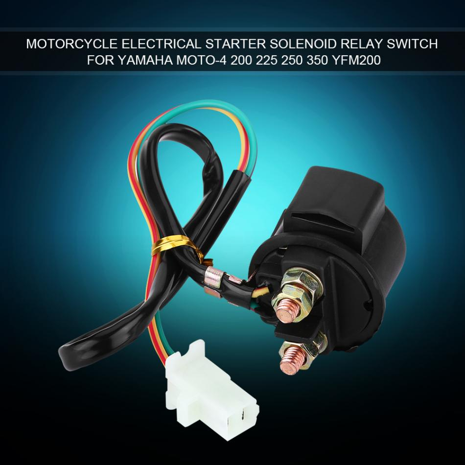 Motorcycle Electrical Starter Solenoid Relay Switch For Yamaha Moto Wiring 4 200 225 250 350 Yfm200 New In Motorbike Ingition From