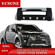 2008 For Mitsubishi L200 Triton Bumper ABS Front Over Bumper For Mitsubishi L200 2006 2007 2009