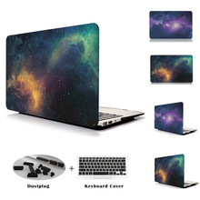 Night Sky Star Series Cover Case Black Hard Wholesale Price For Macbook Air 13 11 Retina 12 Pro 13 15 Laptop Cases for Mac book