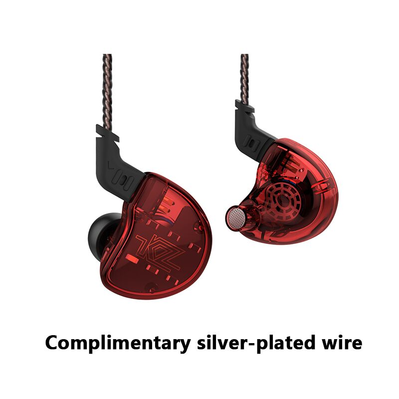 KZ ZS10 Headphones 10 Driver In Earphone 4BA+1DD Dynamic Armature Earbuds HiFi Bass Headset Noise Cancelling Ear Monitors hybrid newest kz zs10 hi fi earphone 4ba 1dd hybrid in ear stereo headphone hifi dj headset monitor music earbuds earphone ecouteurs