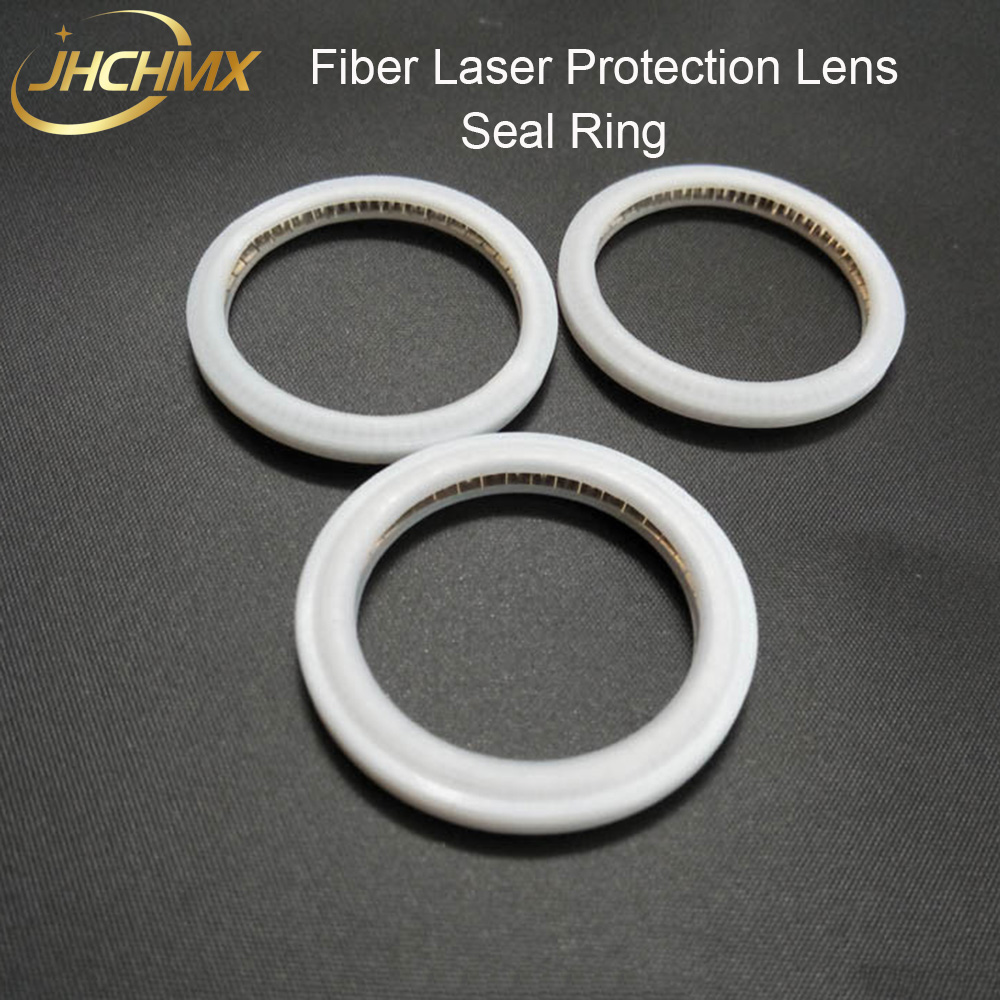 JHCHMX Fiber Laser Protective Windows Seal Ring O-Ring Raytools Precitec WSX Laser Protection Lens 27.9*4.1 30*5 37*7mm Used