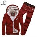 Mens Sportswear Fashion Sporting Brand Men's Tracksuit Sets Jogger Sweat Suit Jacket + Pants Hoodies Sweatshirt Chandal Hombre