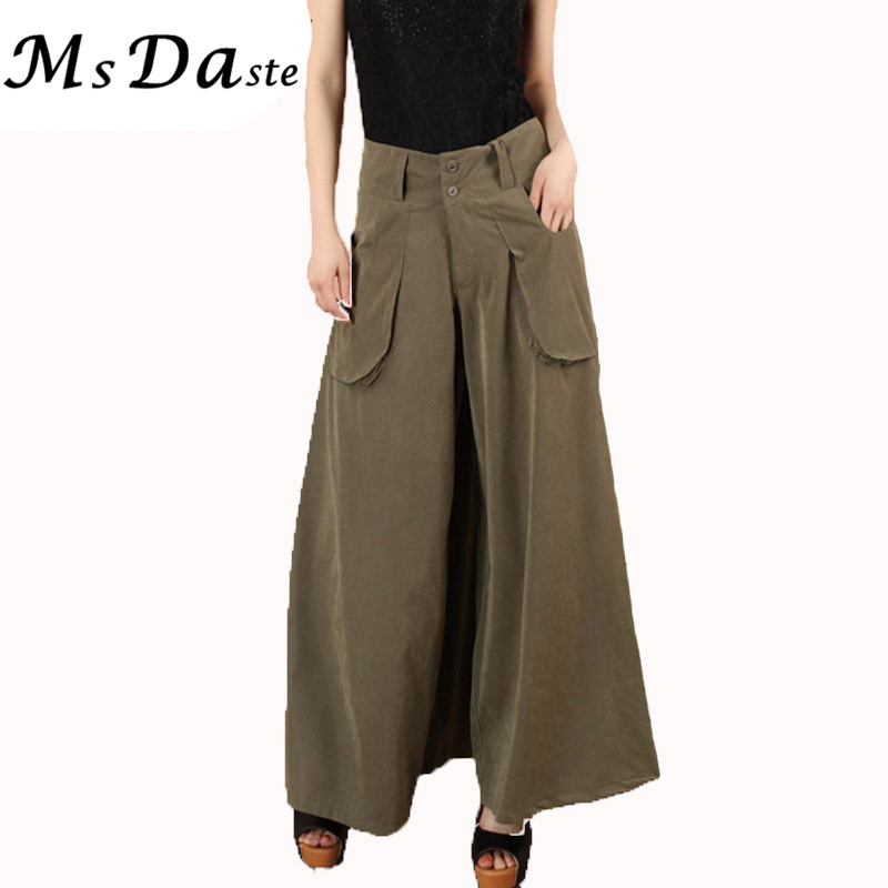 Women Plus Size Bohemian Wide Leg Pants High Waist Maxi Capri Palazzo Pants. from $ 15 99 Prime. out of 5 stars 3. Uptown Apparel. Womens Fold Over Waist Wide Leg Palazzo Pants, Good for Tall Curvy Women-Ships from U.S.A (Los Angeles) .