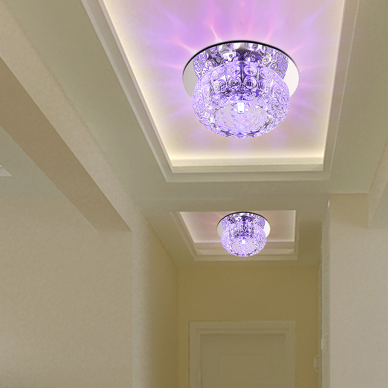 5w Crystal Led Ceiling Lights Aisle Corridor Entrance Hall Lamp Living Room Lighting In From