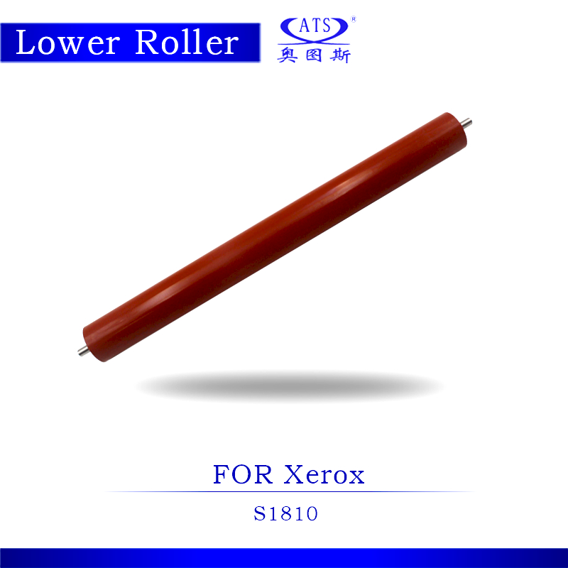 High Quality Photocopy Machine Lower Roller Fuser Roller For Xerox S 1810 Pressure Roller Copier Parts S1810 dzlm000112 dp2310 dp2330 dp3010 dp3030 dp2000 dp2500 dp3000 dp8025 dp8032 copier lower roller bearing for panasonic