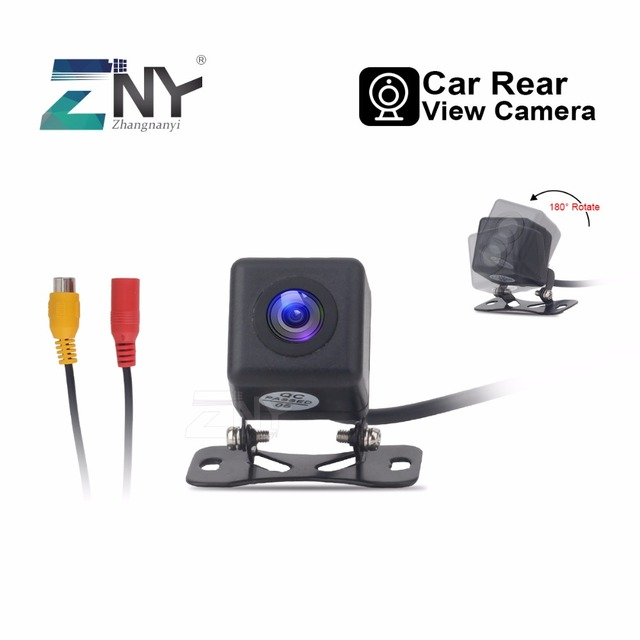 Universal Car Rearview Camera Auto Parking Backup Camera Waterproof Night Vision 170 Degree Wide View 480 TV Lines