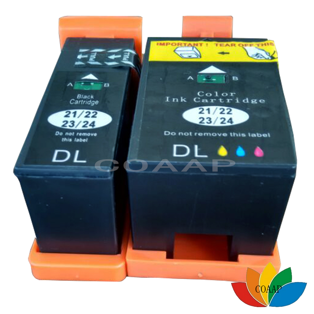 Non-OEM For Dell 21 22 series P 513W 713W all in Black Colour Ink Cartridges