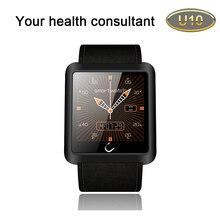 Hohe qualität bluetooth smart watch u smartwatch sync anruf sms für samsung htc android smartphones u10 armbanduhr 3 farben