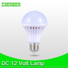 E27 LED Bulb Lights 12V 5W 7W DC 12V Led Lamp E27 9W 12W 15W Energy Saving Lampada 12 Volts Led Light Bulbs for Outdoor Lighting