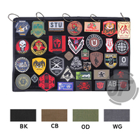 Emersongear Tactical Morale Patch Display Board DIY Patch Collection book Frame Holder Organizer Panel Wall Hanging Badge
