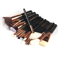 15 Pieces Set Good Quality Makeup Brushes Professional Foundation Powder Blush Cosmetics Make Up Brush Tools