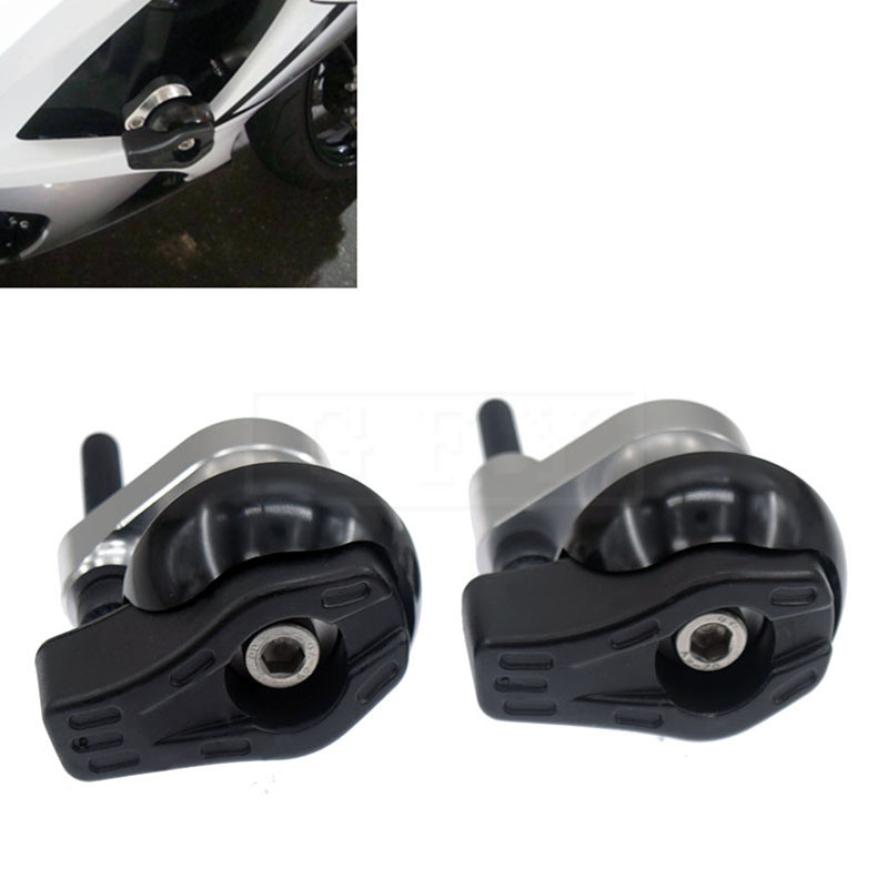 Motorcycle CNC Frame Sliders Crash Falling Protection For Suzuki GSXR1000 GSXR 1000 2007 2008 Moto Protector Accessory 07 08