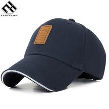 Evrfelan,, Весенняя хлопковая бейсболка, бейсболка, летняя кепка, хип-хоп облегающая Кепка, головные уборы для мужчин и женщин