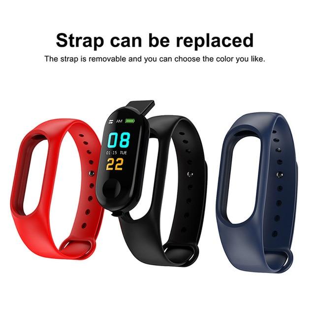 Bluetooth Smart Watch Kids Children Wristband Waterproof Bracelet Band Digital LED Sports Watch Child Wrist Clock Smartwatch
