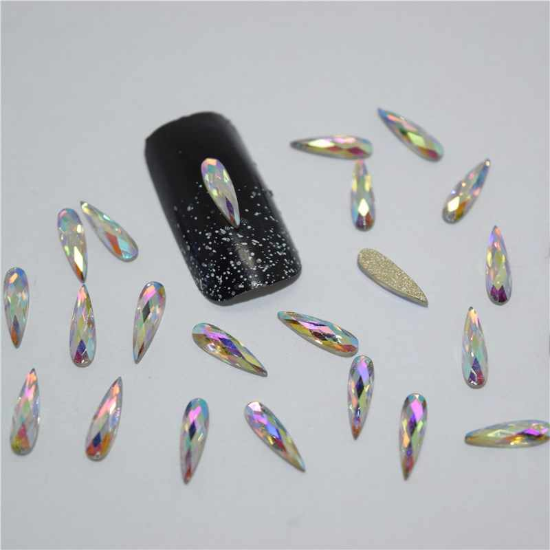 10-50psc ใหม่สี glitter rhinestones 3D ตกแต่งเล็บ,เล็บ Charms เล็บ Rhinestones เล็บอุปกรณ์ CZ012