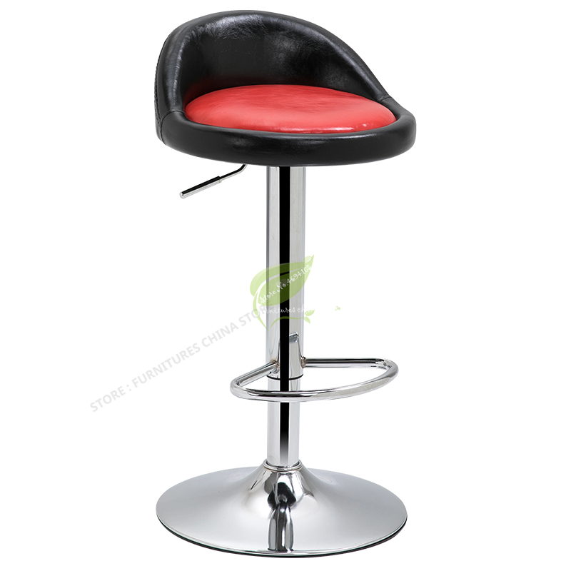 Iron Bar Chair Stool Bar Tabouret De Bar Dotomy Make Up Chair Modern Bar Stool  Beauty Salon Furniture Modern Simplicity