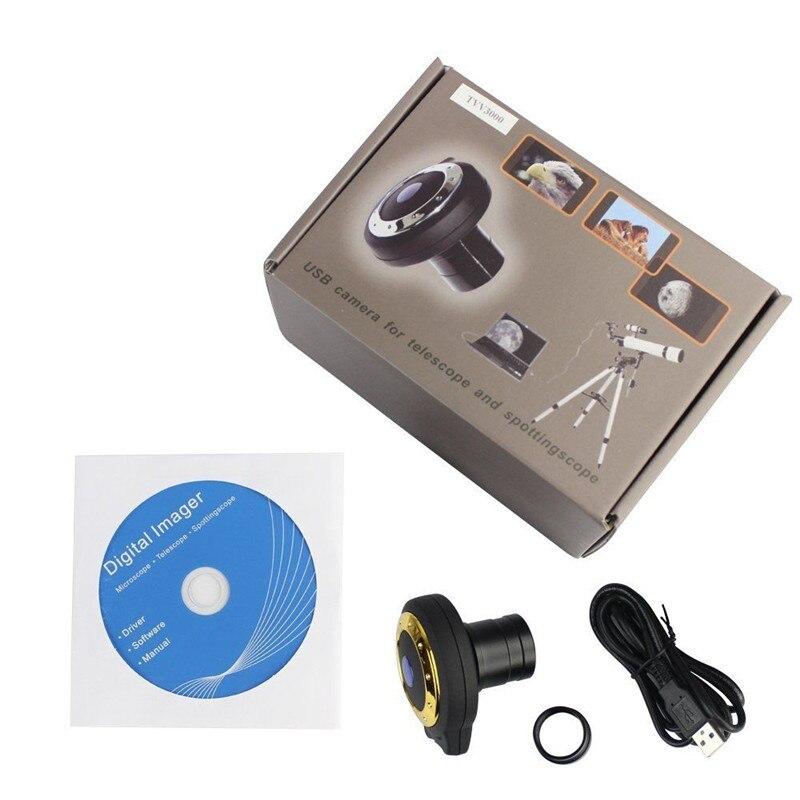 Telescopio Cámara ocular digital Sensor de imagen USB 3.0MP CMOS - - Caza - foto 4