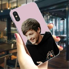 Louis Tomlinson Hard Cover for iPhone 6 Protective Phone Case for iPhone X Xs Xs Max XR 5 5S SE Back shell стоимость
