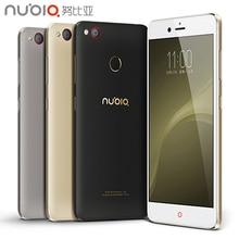 Оригинал ZTE Nubia Z11 Mini S 4 Г LTE Мобильный Телефон 4 ГБ RAM 64 ГБ ROM Qualcomm Snapdragon 652 Octa Ядро 5.2 дюймов 23.0MP смартфон