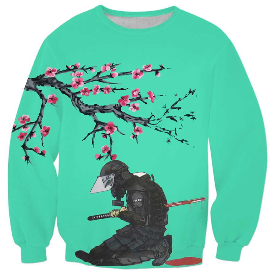5fff4b8f0f Detail Feedback Questions about free shipping Japanese anime Streetwear  Sweatshirt fashion Men Women Long sleeve Outerwear Death 3d Print Crewneck  ...