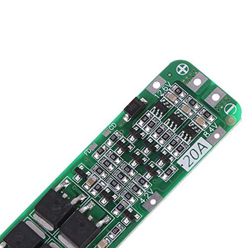 Image 5 - 3S 20A Li Ion Lithium Battery 18650 Charger Pcb Bms Protection Board For Drill Motor 12.6V Lipo Cell Module-in Battery Accessories & Charger Accessories from Consumer Electronics