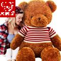 New Arrival Size 35cm-55cm Teddy Bear, Plush, Baby Toy Cheap Unisex Catoon Toys For Children Big Teddy Bear Baby Love Gift