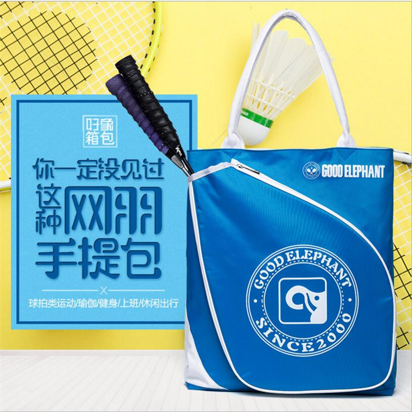 Large Capacity Tennis Badminton Dual - Use Backpack With High Quality Nylon Sports Bag For Racket Sports Gym Bag