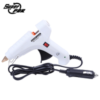 Super PDR White Hot Melt Glue Gun 12V Car Charger For Car Dent Repair Tools Kit