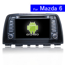 1024 600 HD 8 inch Android Car DVD Player for Mazda 6 Car Radio Navigation Bluetooth