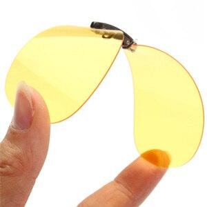 جديد 2018 رجل إمرأة الاستقطاب كليب على النظارات الشمسية القيادة للرؤية الليلية مكافحة Uva النظارات الشمسية كليب ركوب