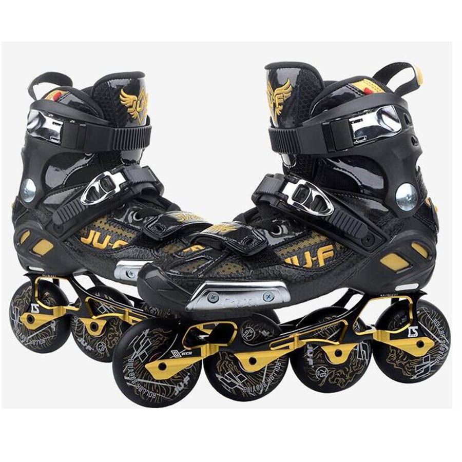 War Wolf Inline Slalom Skate Adult's Roller Skating Shoes Inline Skates Professional Patines For Street Free Skating Sliding