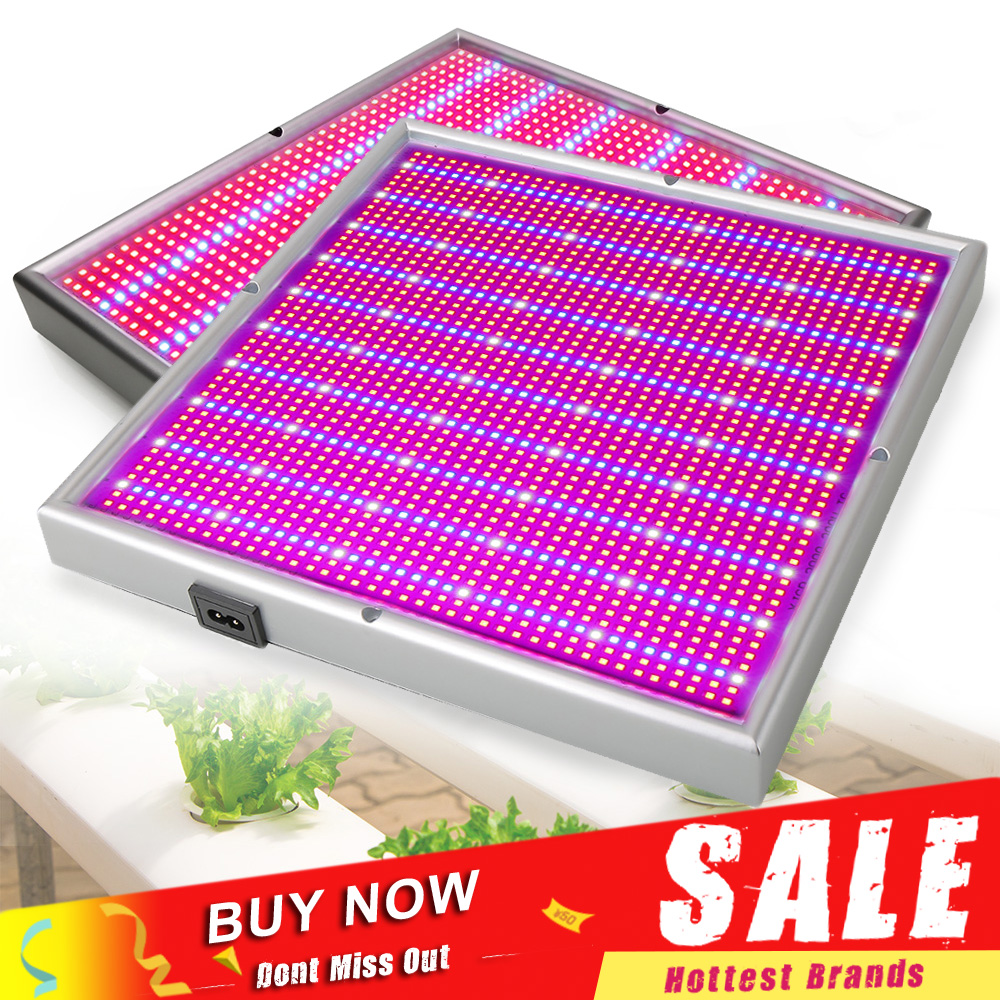 120W 200W Dimmable LED Grow Light Plant Lamp SMD3528 Red Blue Led Fitolamp For Indoor Hydroponics Flower Fruit Vegs Greenhouse