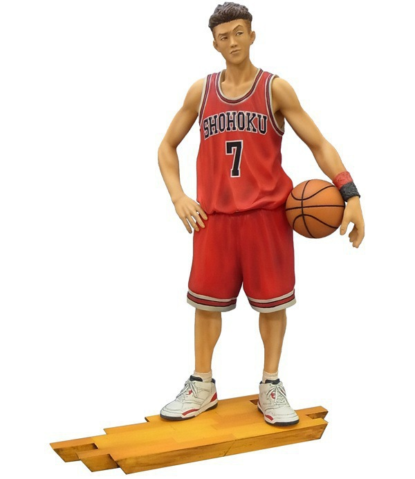 new Anime Figure Slam Dunk 21CM Miyagi Ryota NO.7 PVC Action Figure Collectible Toy Model huong anime slam dunk 24cm number 11 rukawa kaede pvc action figure collectible toy model brinquedos christmas gift