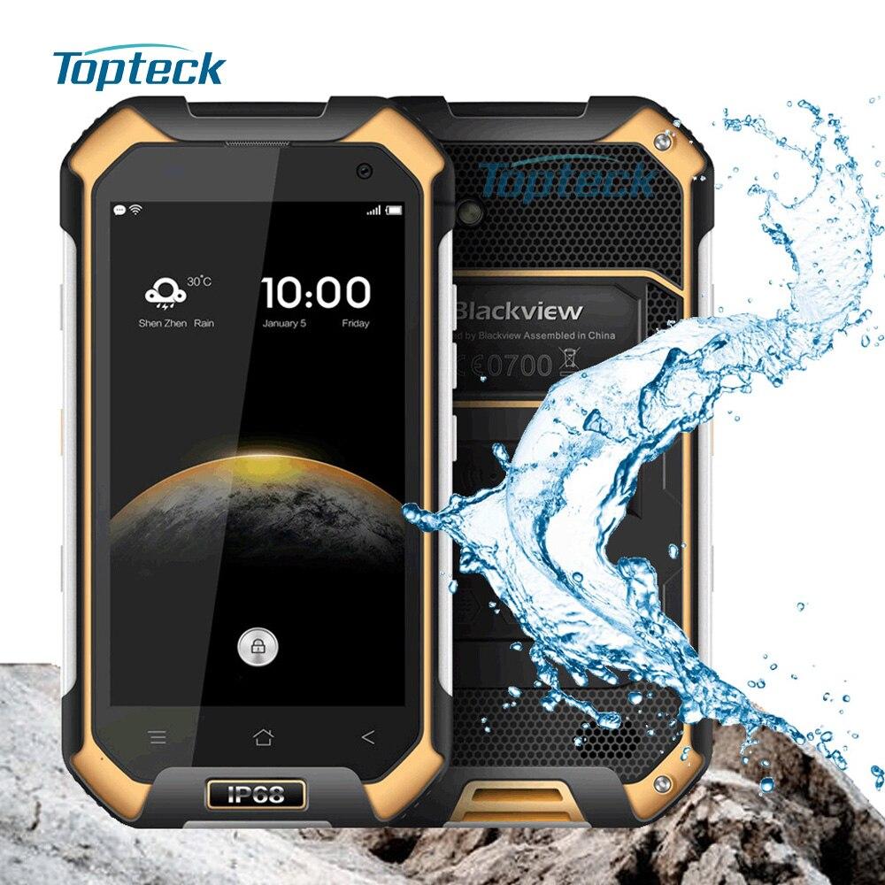 bilder für Blackview BV6000 4G NFC IP68 Wasserdicht Stoßfest Smartphone Android 6.0 MT6755 Octa-core 3 GB + 32 GB 13MP 4200 mAh Handy