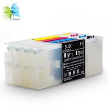 Winnerjet 300ml T6161-T6164 Empty Refill ink cartriges with Permanent chip for Epson stylus pro b-300dn,b-500dn printer