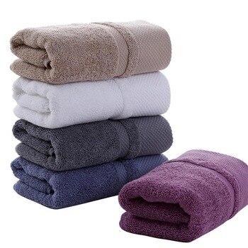 Microfibra suave de toallas de baño de algodón para adultos absorbente de  mano de lujo de baño playa cara hoja de las mujeres de los hombres básicos  Toalla ... f55008b16552