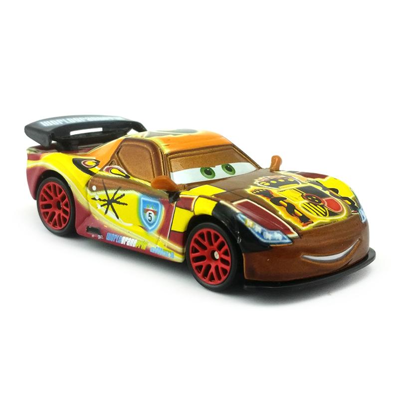 Disney Pixar Cars 2 Neon Racers Miguel Camino Metal Diecast Toy ...   800x800